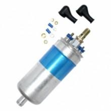 Detalhes Bomba de Combustível Externa Pressão: 9 Bar Pressão Estancada: 12 Bar Vazão: 120 L/h Corrente: 10,5A Tensão: 12Vdc